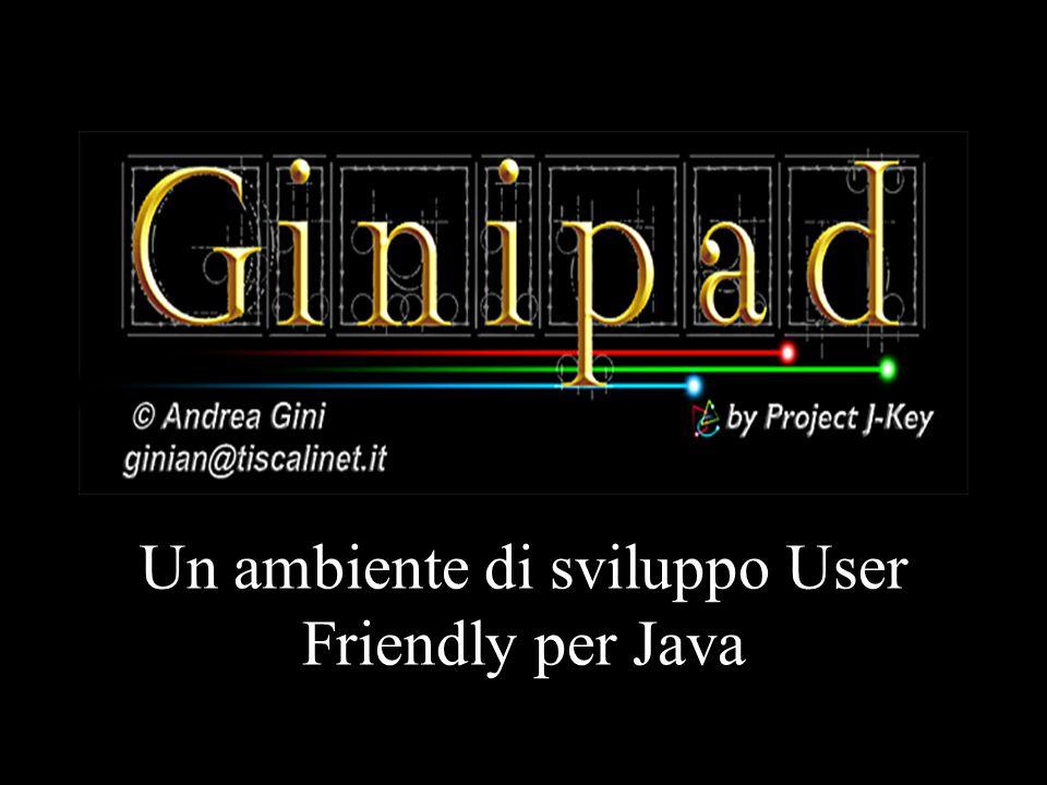 Un ambiente di sviluppo User Friendly per Java