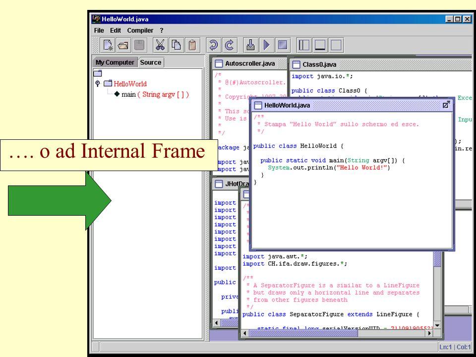 …. o ad Internal Frame