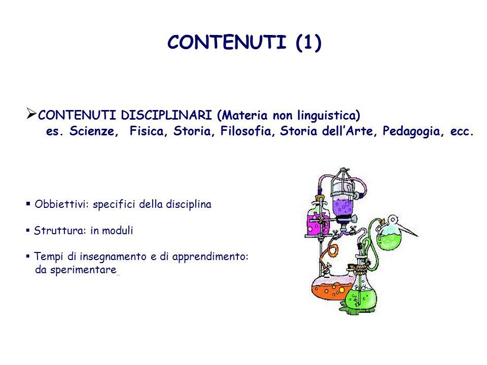 Esempio di Conduzione di un Esperimento in L2  MATERIALI: GRIGLIA DI OSSERVAZIONE – DISEGNO DEGLI STRUMENTI DA NOMINARE  DURATA: 2-3 ore (dipende dalla durata dell'esperimento)  PRIMA DELL'ESPERIMENTO a.Analisi/Revisione della griglia di osservazione da parte della classe sotto la guida del docente (chiarimento/ ripetizione della terminologia, di eventuali grafici, delle fasi di esecuzione, tipologia dei dati da raccogliere, ecc.).