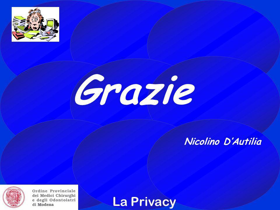 La Privacy Grazie Nicolino D'Autilia