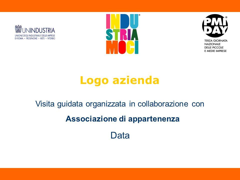 Logo azienda Visita guidata organizzata in collaborazione con Associazione di appartenenza Data A A