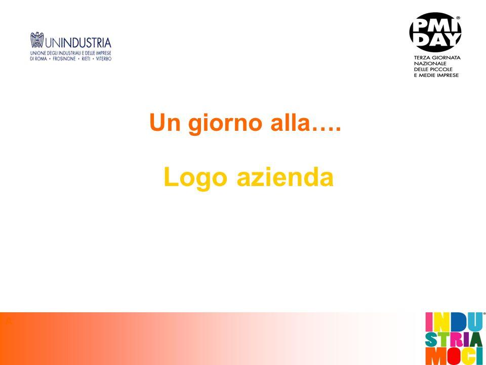 Un giorno alla…. Logo azienda A