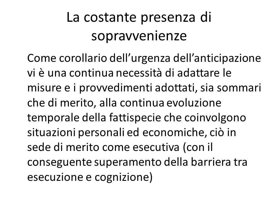 Competenza per materia L'art.706 c.p.c.