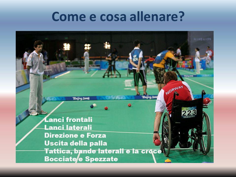 Bibliografia http://www.paralympic.org http://www.bisfed.com http://www.gb-boccia.org http://www.fispes.it/showfaq.php?faq=2&chapter=37 http://bocciaparamilano.altervista.org http://www.comitatoparalimpico.it/index.aspx http://www.federbocce.it http://cpisra.org Claudio Arrigoni, Paralimpici, lo sport per disabili: storie, discipline, personaggi, HOEPLI L.