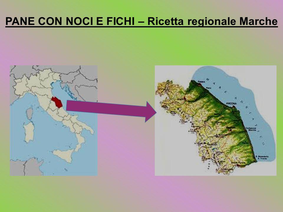 PANE CON NOCI E FICHI – Ricetta regionale Marche