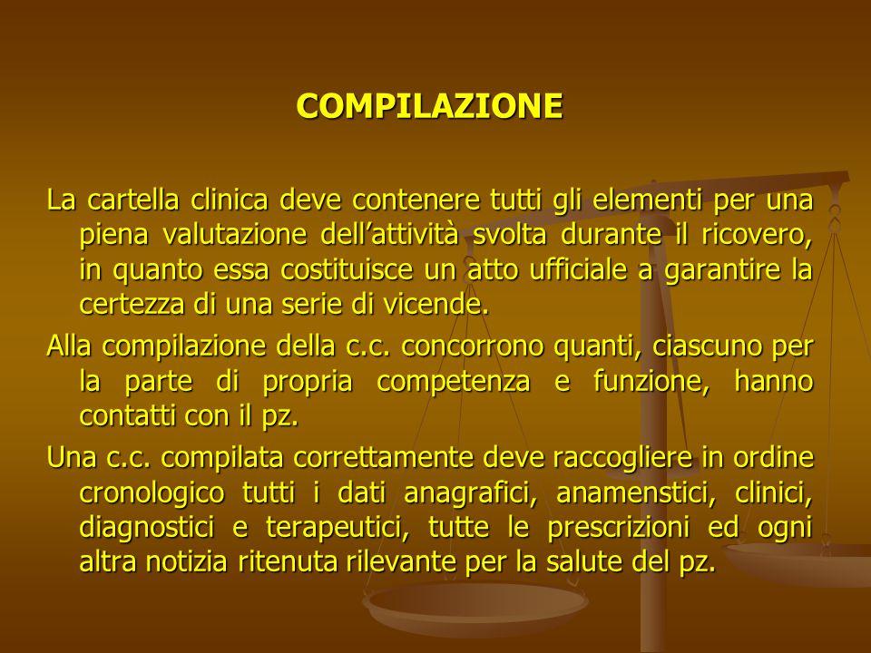 DOCUMENTI ANNESSI ALLA CARTELLA CLINICA Foglio di accettazione/rapporto P.S.