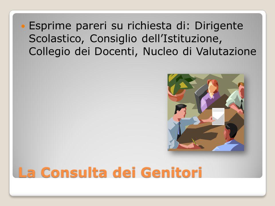 La Consulta dei Genitori Promuove iniziative di formazione da rivolgere ai genitori
