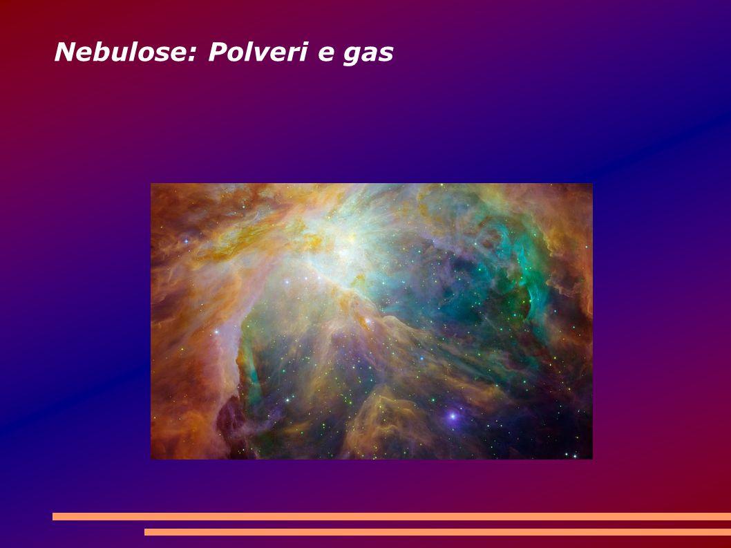 Nebulose: Polveri e gas