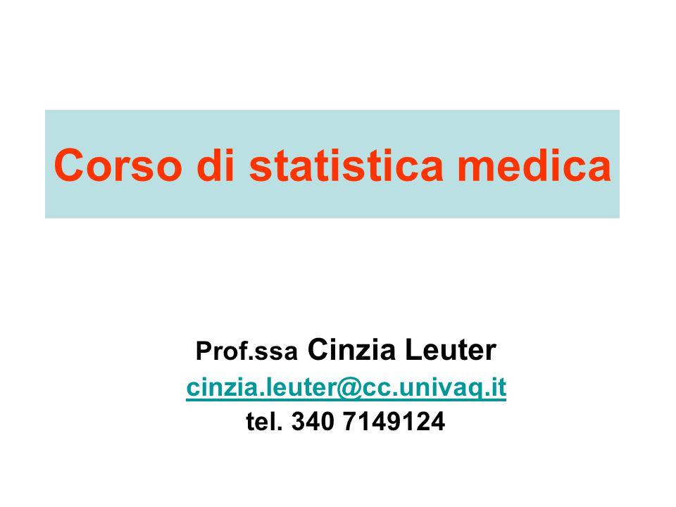 Più variabili rilevate per unità statistica Distribuzione di frequenza di 50 unità classificati per sesso e statura Statura in cm.