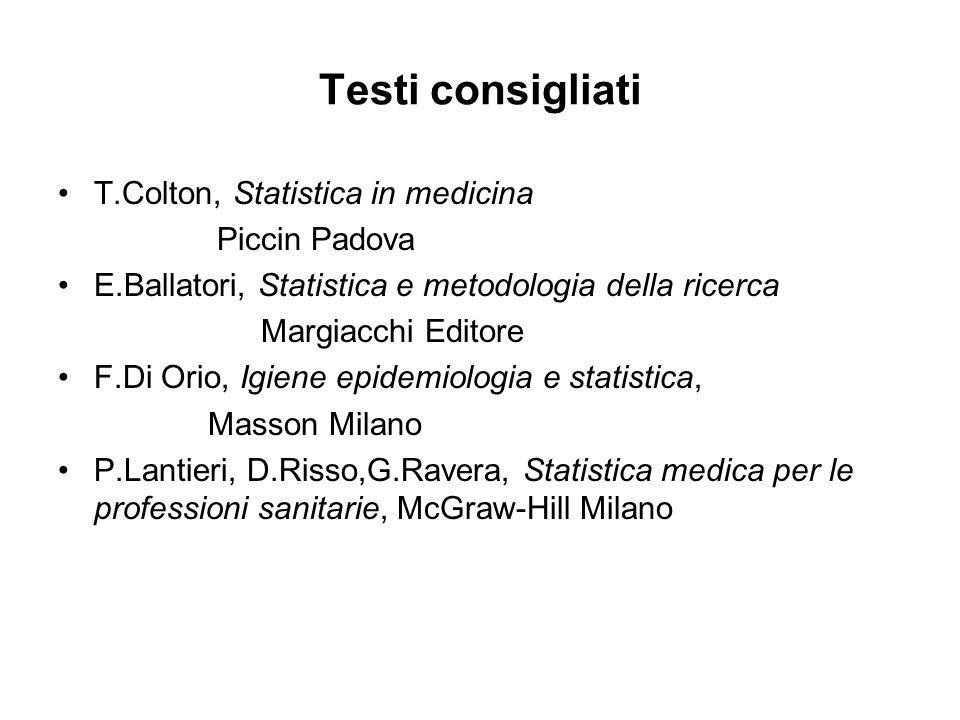 CONTROLLO E VERIFICA DEI DATI Gli errori possono essere: Sistematici:quando si presentano nella stesa maniera per ogni dato rilevato (es.