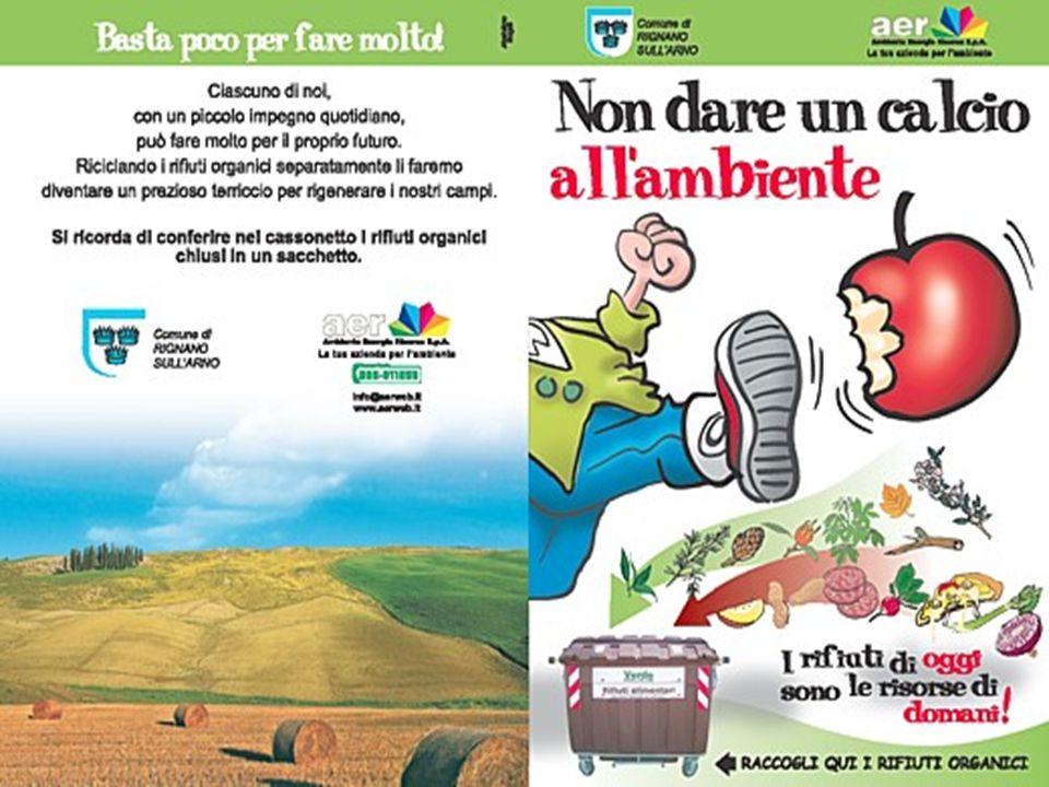 L organico in molti comuni è gestito in casa dai cittadini, che lo riciclano in proprio attraverso il compostaggio domestico.