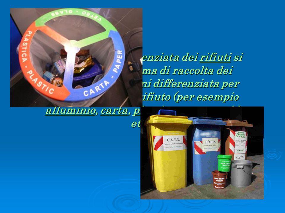  PLASTICA  Le bottiglie in plastica (PET, PVC, PE) e i flaconi di detersivi vanno sciacquati e schiacciati nel senso della lunghezza, chiusi con il loro tappo, anch'esso riciclabile, e riposti nel cassonetto per la raccolta della plastica.
