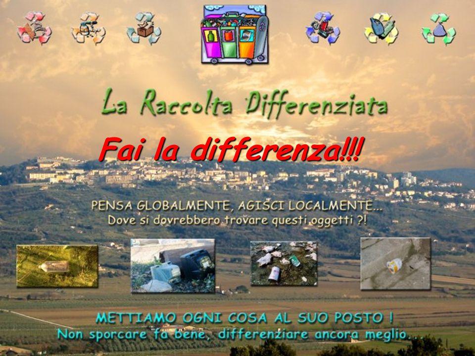 Fai la differenza!!!