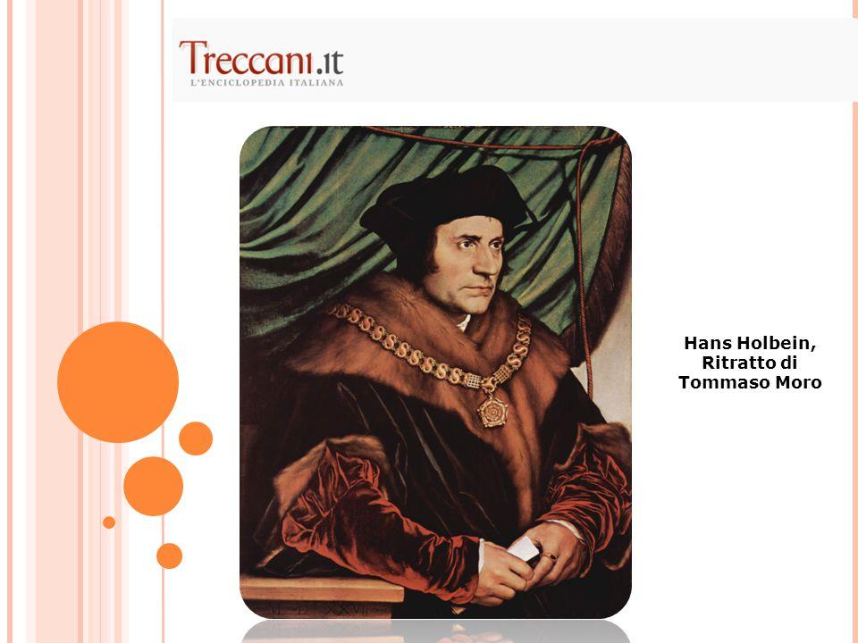 Hans Holbein, Ritratto di Tommaso Moro
