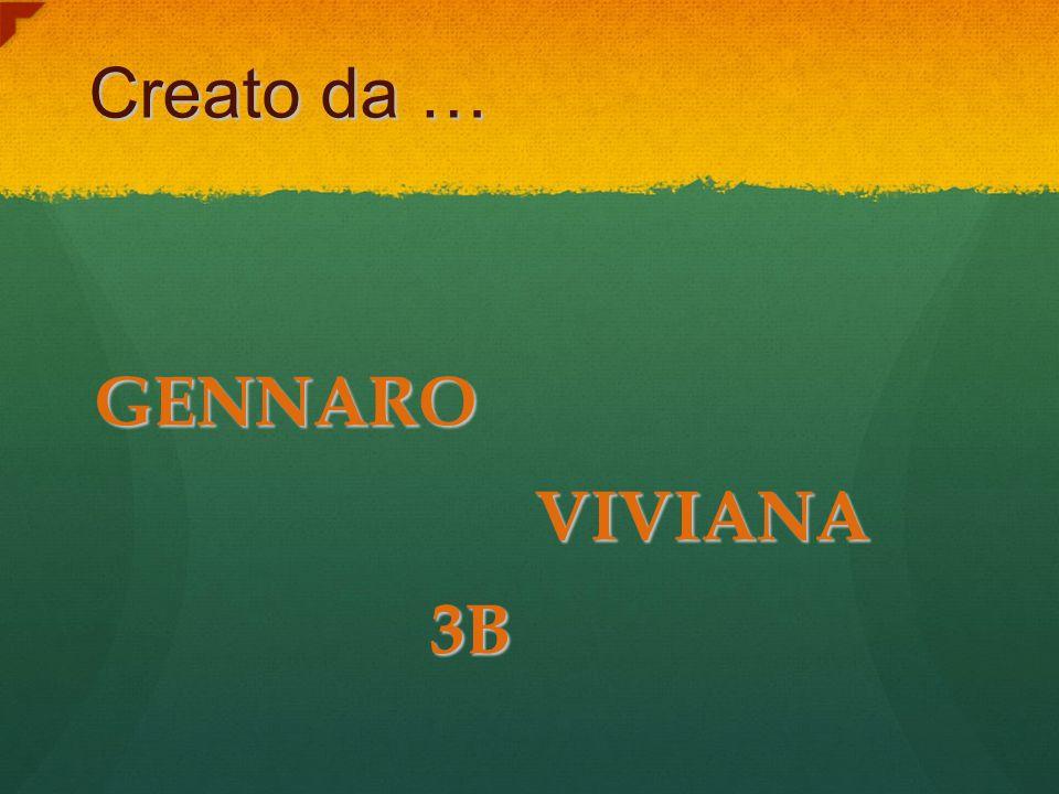 Creato da … GENNARO VIVIANA VIVIANA 3B 3B