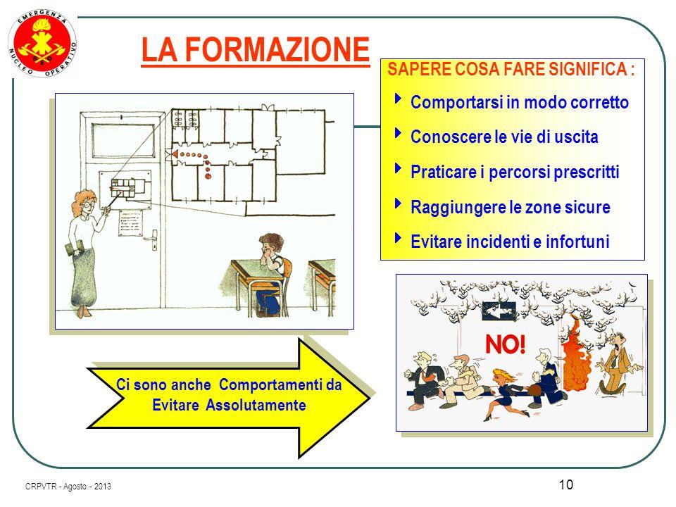 9 I RUOLI INTERNI ALL' Organizzazione Il Servizio di Prevenzione e Protezione Gli Addetti e i Preposti I Lavoratori  Il Datore di Lavoro  Il Respons