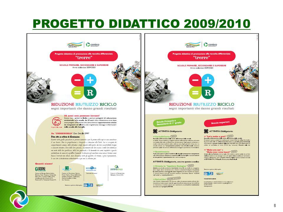 8 PROGETTO DIDATTICO 2009/2010