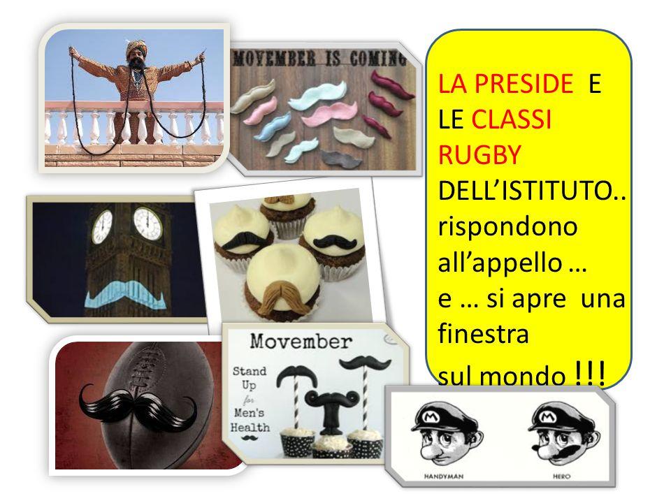Yesss!!! Decisamente Movember va bene anche per bambini e maestre!