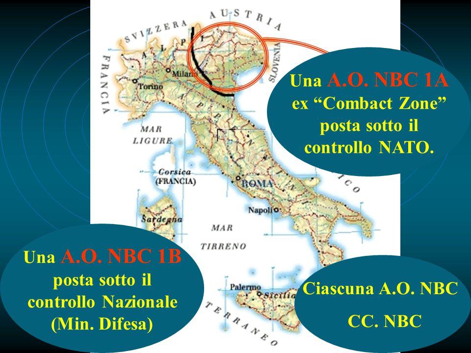 Una A.O. NBC 1A ex Combact Zone posta sotto il controllo NATO.