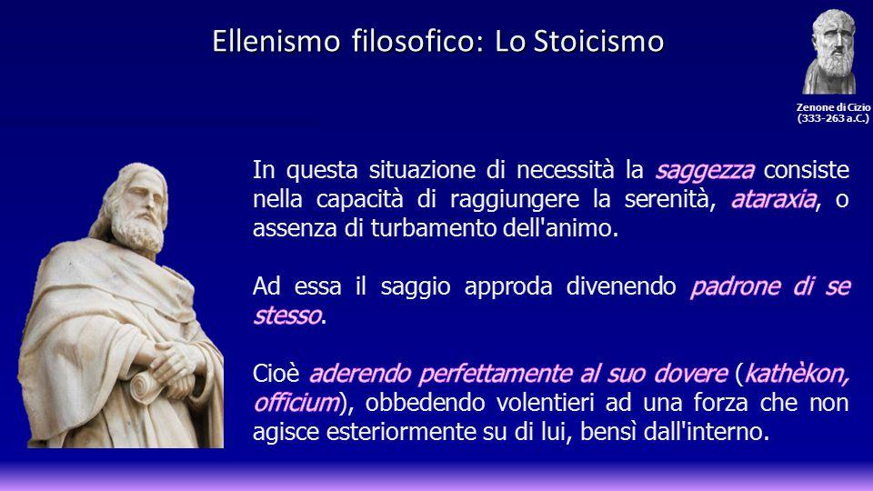 Zenone di Cizio (333-263 a.C.)