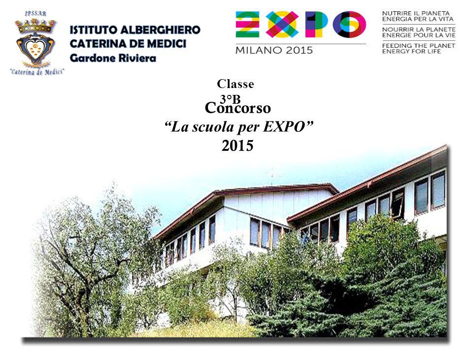 Concorso La scuola per EXPO 2015 Classe 3°B