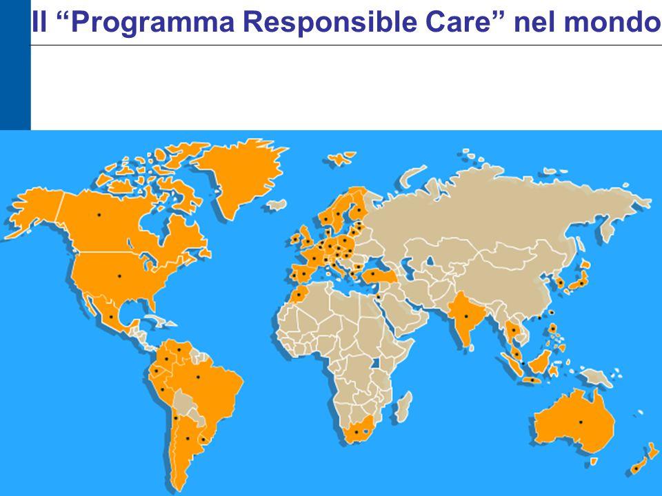 """Il """"Programma Responsible Care"""" nel mondo"""