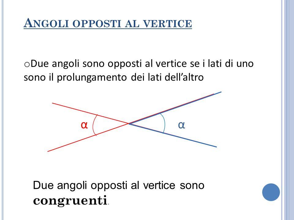 ESEMPI 1.Due angoli sono complementari.Uno misura 65°.