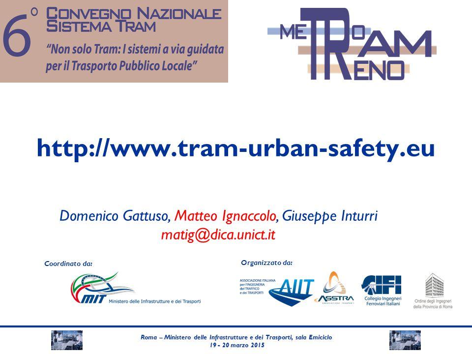 Roma – Ministero delle Infrastrutture e dei Trasporti, sala Emiciclo 19 - 20 marzo 2015 19 - 20 marzo 2015 Coordinato da: Organizzato da: http://www.t
