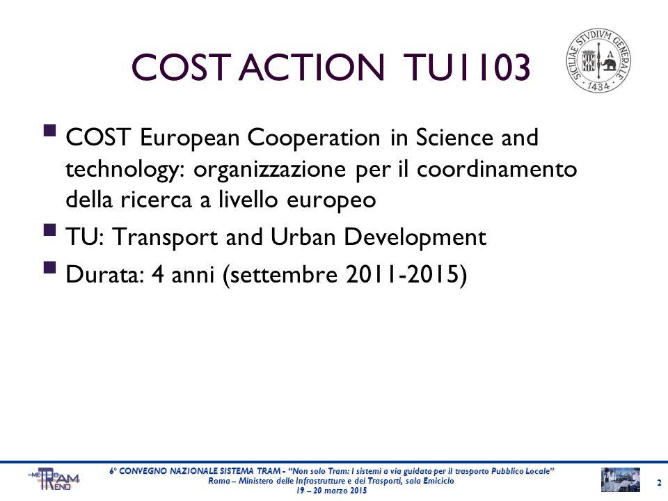 """2 6° CONVEGNO NAZIONALE SISTEMA TRAM - """"Non solo Tram: I sistemi a via guidata per il trasporto Pubblico Locale"""" Roma – Ministero delle Infrastrutture"""