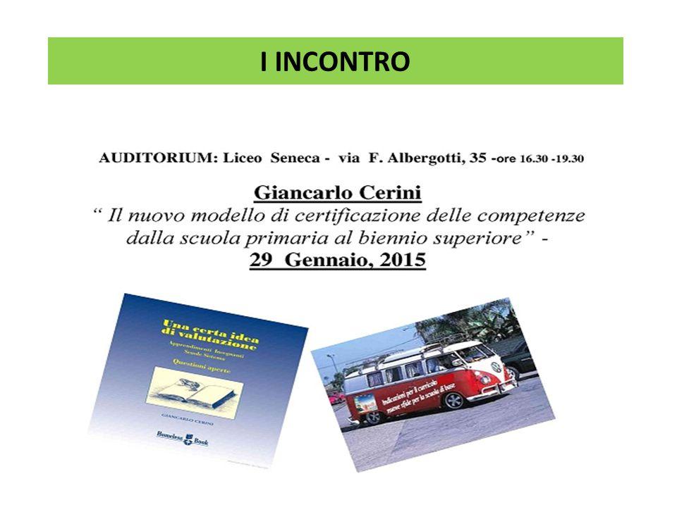 a cura di M.Mozzetti II INCONTRO
