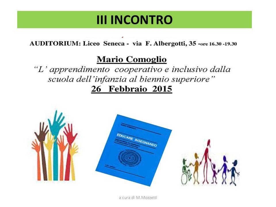 II FASE LABORATORI FORMAZIONE ATTIVA TUTOR/FORMATORI: Francesca Napoletano - Gruppi I e II Franca Talone - Gruppi III e IV a cura di M.Mozzetti