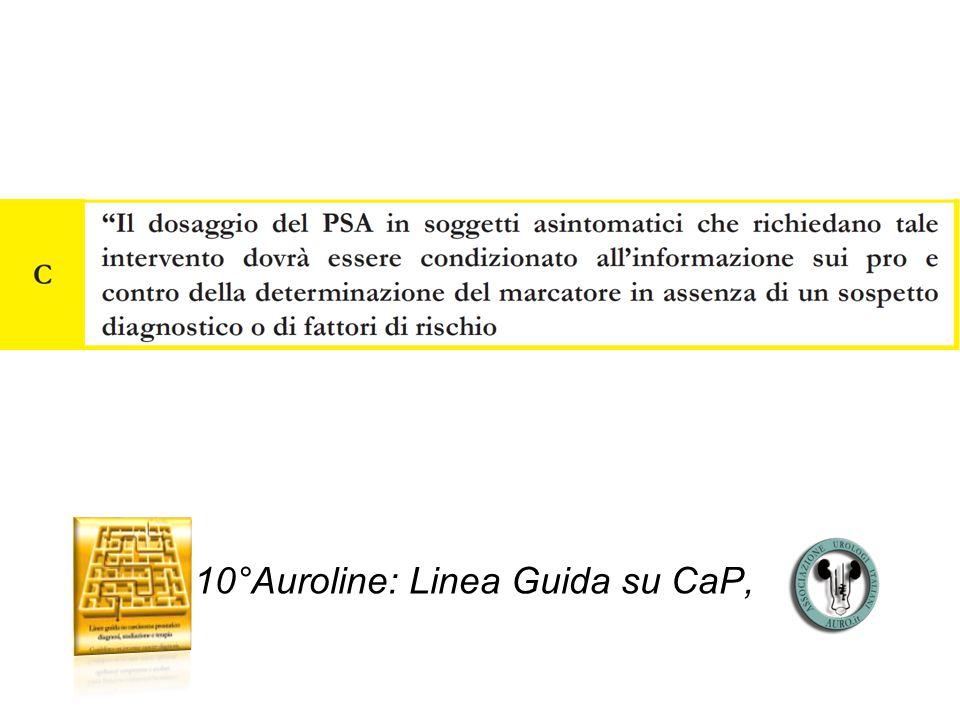 10°Auroline: Linea Guida su CaP,
