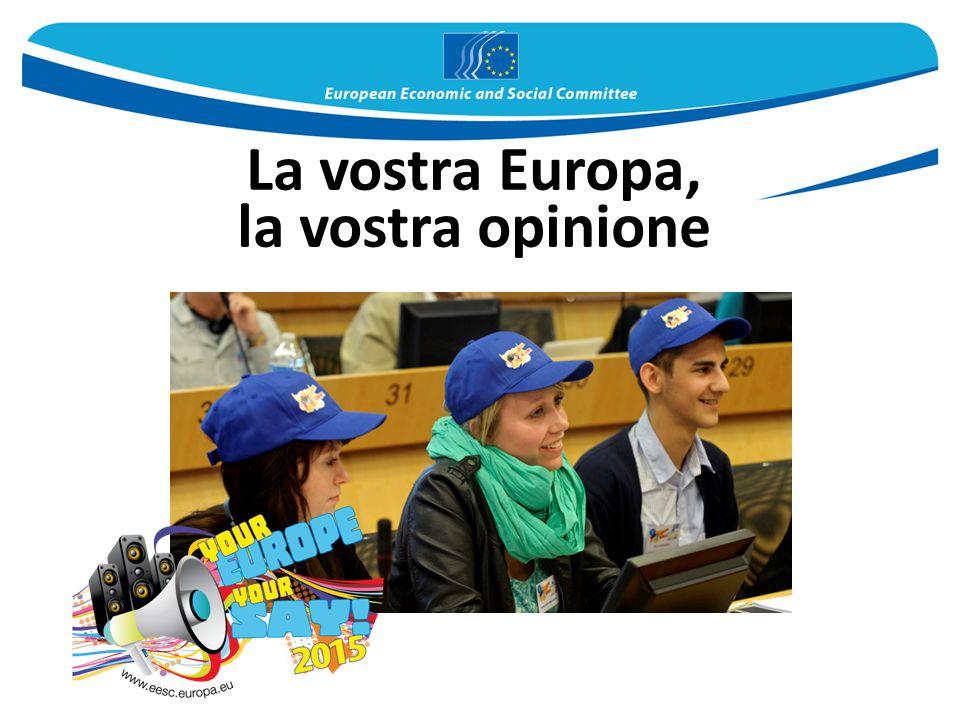 La vostra Europa, la vostra opinione