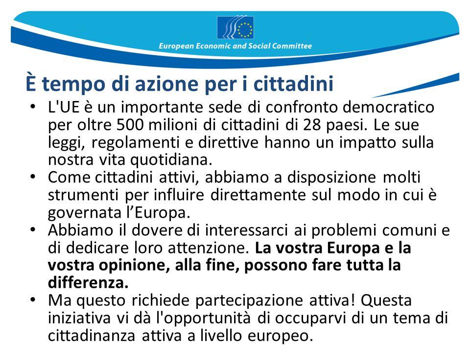 L'UE è un importante sede di confronto democratico per oltre 500 milioni di cittadini di 28 paesi. Le sue leggi, regolamenti e direttive hanno un impa