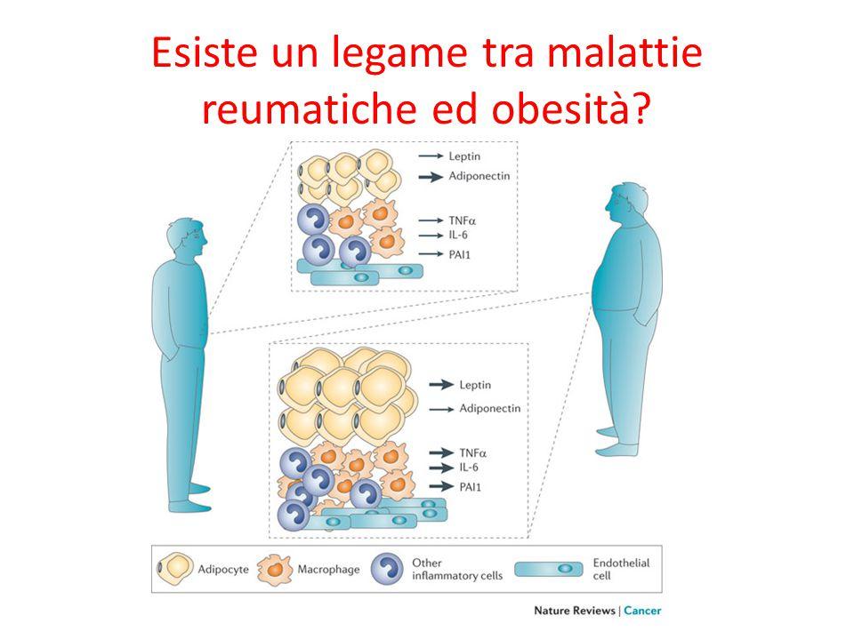 Esiste un legame tra malattie reumatiche ed obesità?