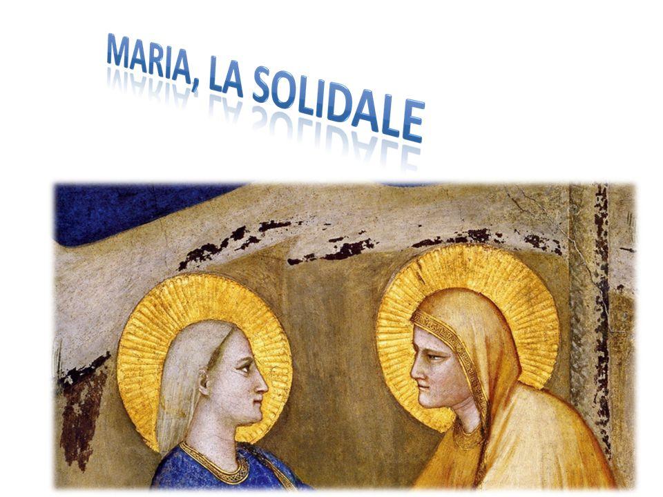 Maria è un frammento nel quale si riflettono le esigenze supreme della fede, di cui riunisce e riverbera i massimi dati