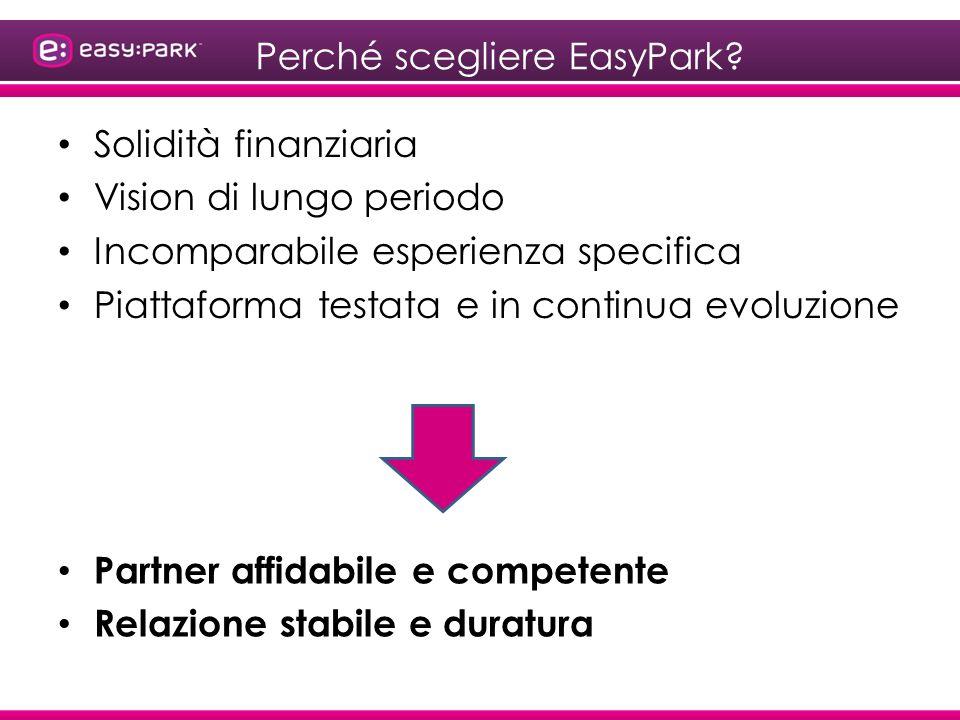 Perché scegliere EasyPark.