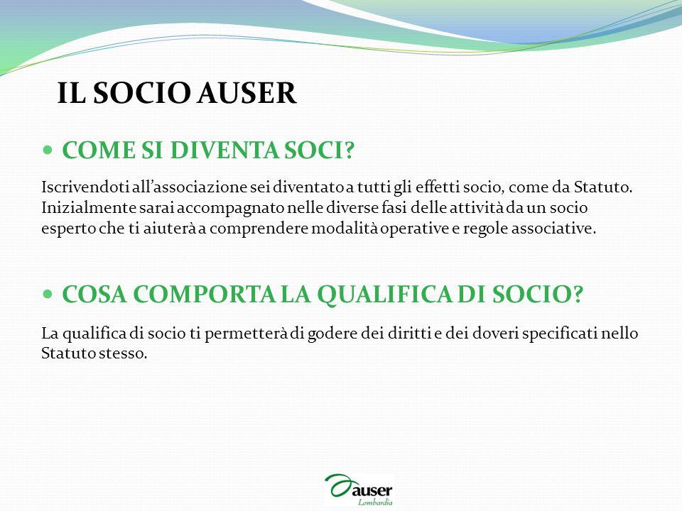 INFORMAZIONI AMMINISTRATIVE INFORMATIVA PER I SOCI EX ART.