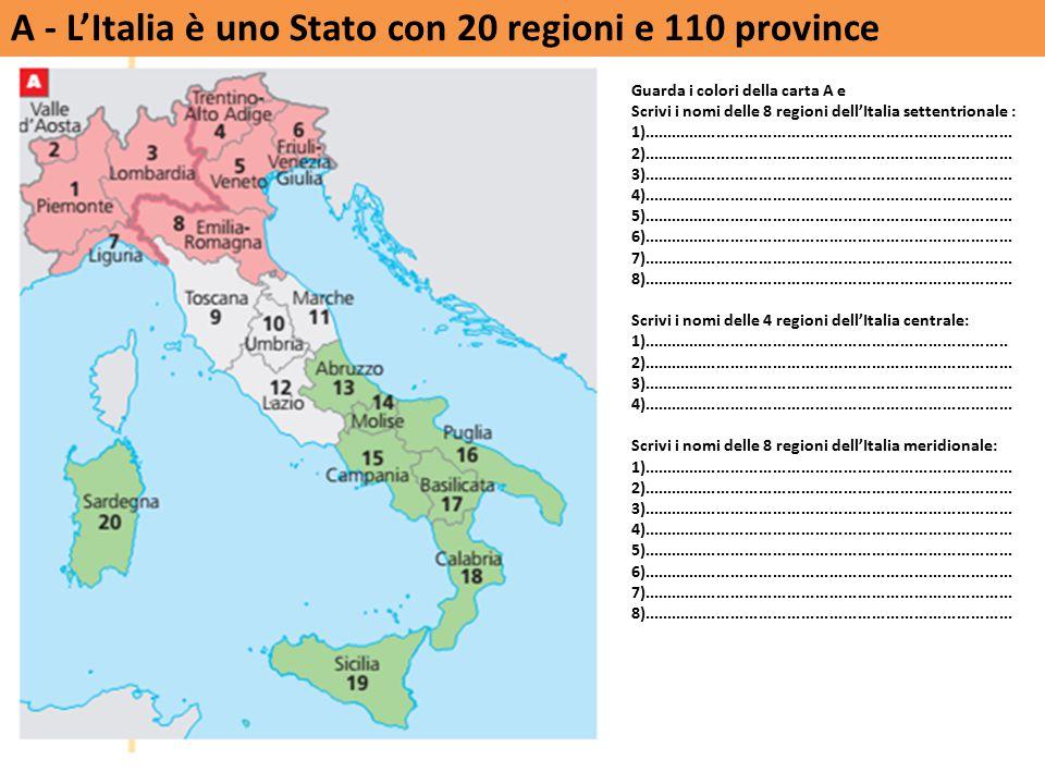Le carte a colori di Limes 2/09 Esiste l Italia.