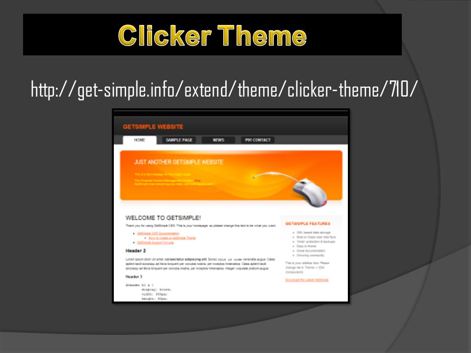 http://get-simple.info/extend/theme/clicker-theme/710/