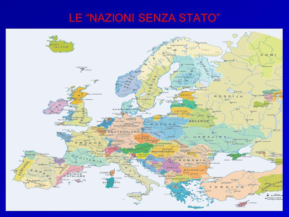 LE NAZIONI SENZA STATO