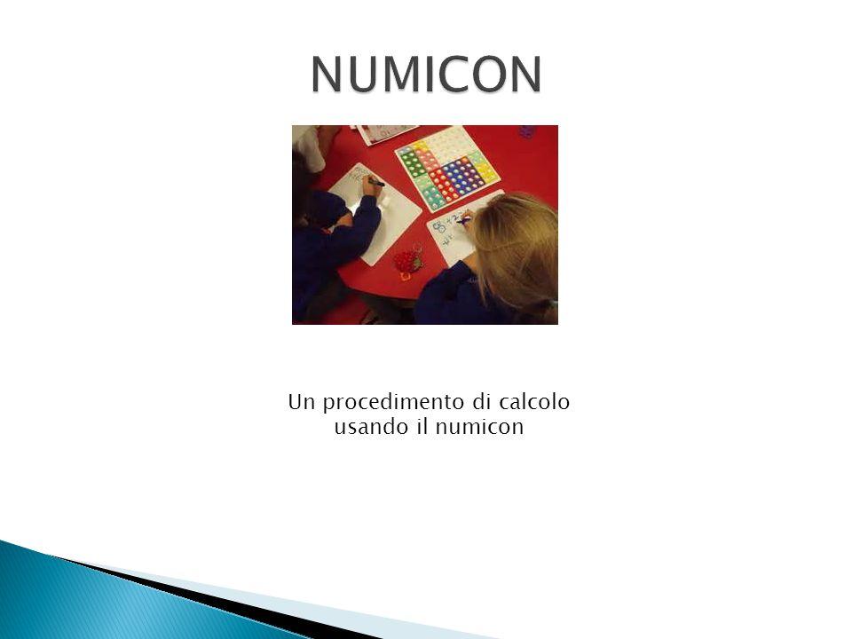 Un procedimento di calcolo usando il numicon