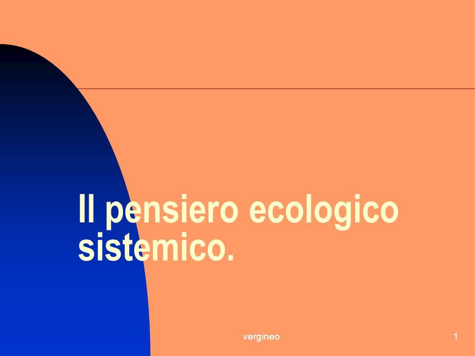 vergineo1 Il pensiero ecologico sistemico.
