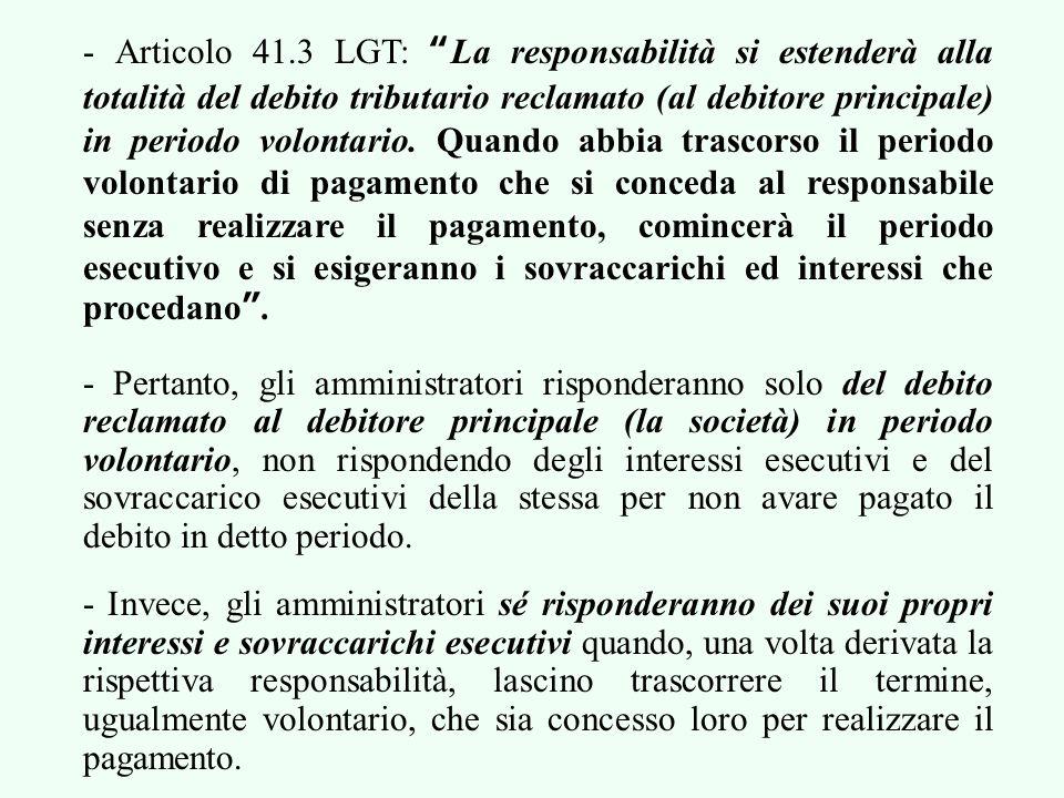 7.2. I COMPONENTI DEL DEBITO TRIBUTARIO Questi componenti sono: la quota; i sovraccarichi del periodo esecutivo; gli interessi di ritardo; ed i sovrac