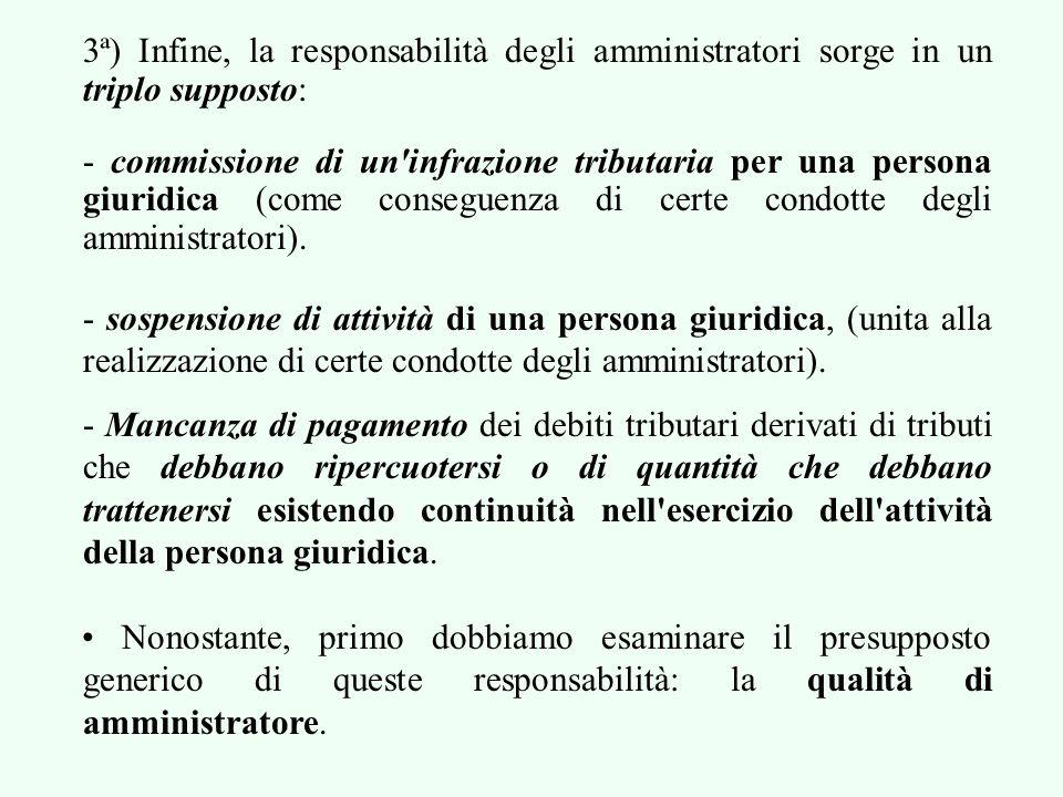 - La sospensione deve essere completa, definitiva ed irreversibile (un anno –mínimo- senza attività) - L'Amministrazione deve provare la sospensione, ma questo può essere complesso.