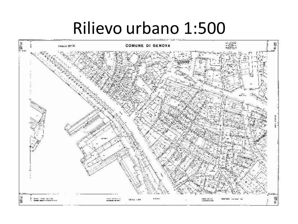 Rilievo urbano 1:500