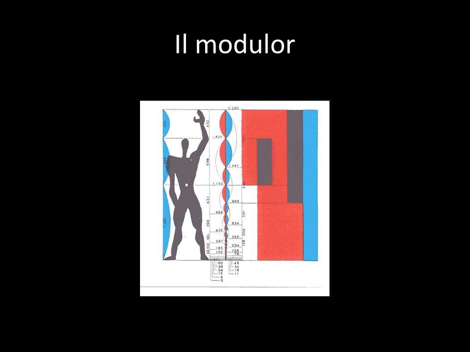 Il modulor