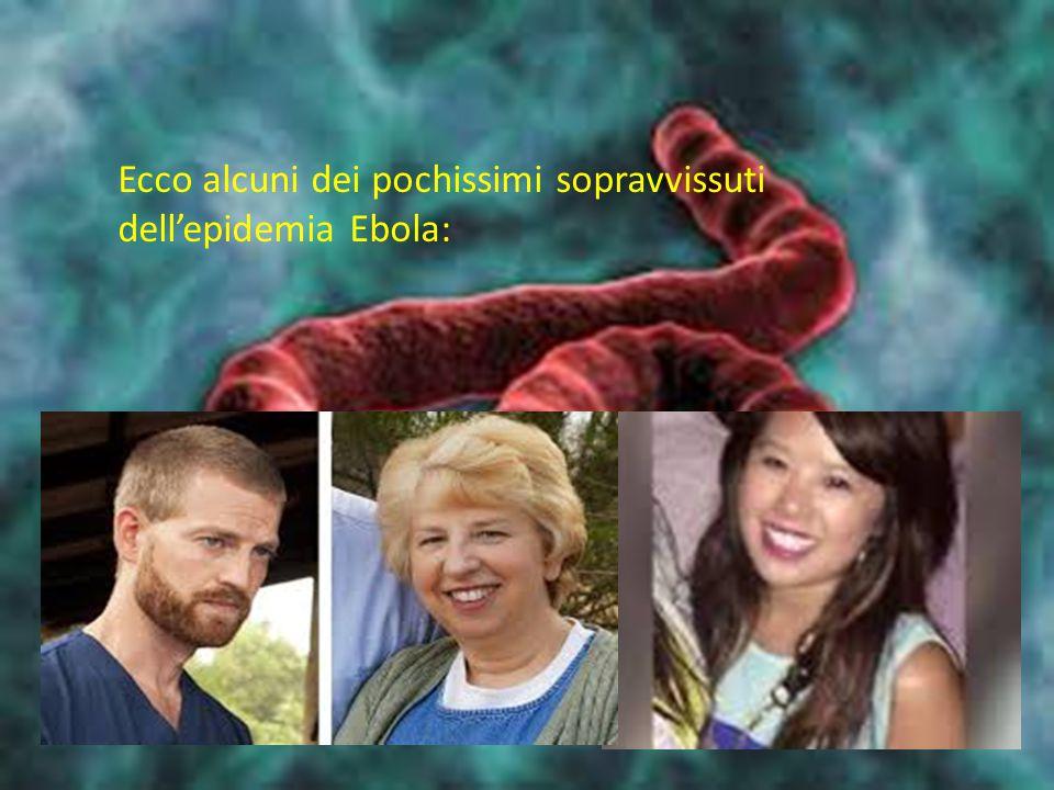 Ecco alcuni dei pochissimi sopravvissuti dell'epidemia Ebola: