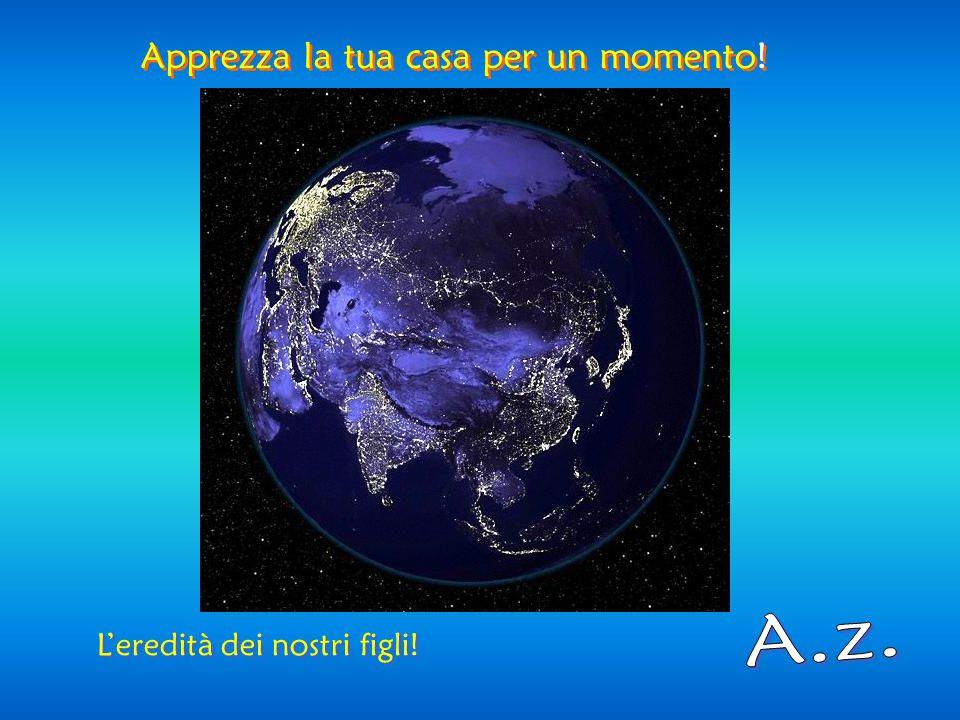 Meraviglioso pianeta blu! Meraviglioso pianeta blu!