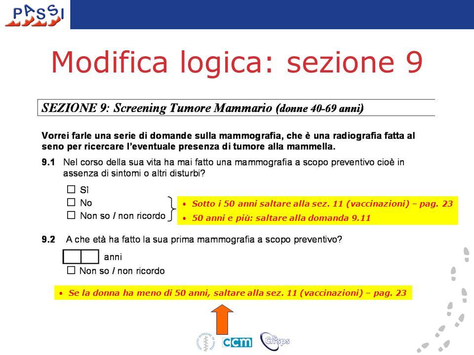 Moduli opzionali 1 - Ambiti indagabili  comportamenti a rischio per la salute  atteggiamenti e comportamenti orientati alla prevenzione  prevalenza di condizioni patologiche  interventi preventivi attuati dal sistema sanitario